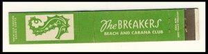 Lido Beach ,Long Island, New York Mini-Match Cover, The Breakers