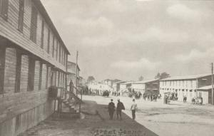 CAMP LEE, Virginia, 1910-20s; Street Scene