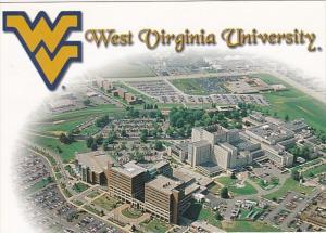 West Virginia Morgantown Aerial View West Virginia University Medical Complex...