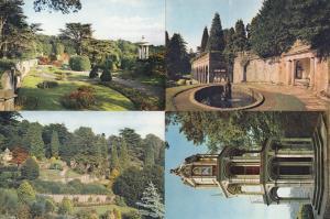 Alton Towers Staffordshire 4x Scenic Postcard s