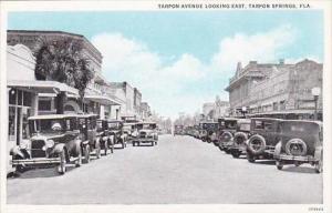 Florida Tarpon Springs Tarpon Avenue Looking East