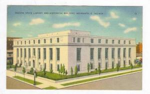 Indiana State Library, Indianapolis, In, 30-40s