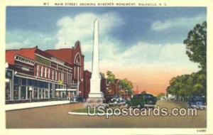 Main Street, Wagener Monument -sc_qq_1502