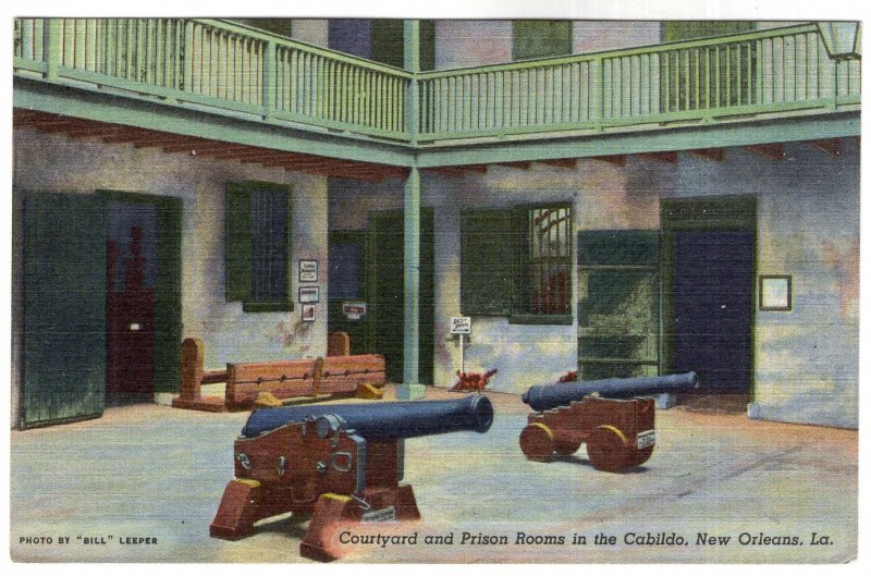 New Orleans, La, Courtyard and Prison Rooms in the Cabildo