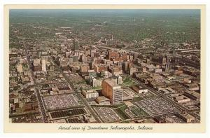 Indianapolis, Indiana, An Early Birdseye View