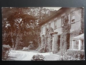 Lincolnshire FRISKNEY VICARAGE shows two Ladies & Person in Wheelchair c1905 RP