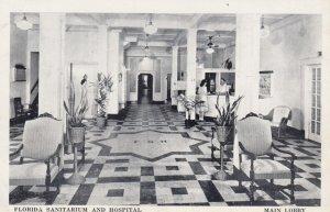 ORLANDO , Florida , 1950-60s ; Florida Sanitarium & Hospital , Interior