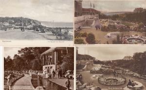 Bournemouth Bandstand Childrens Corner Swimming Pool 4x Postcard s