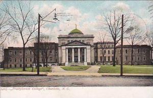 Presbyterian College, Charlotte, North Carolina, PU-1918