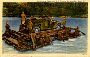Military - Fort Knox, NY. Transporting Equipment