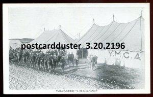 2196 - VALCATIER Quebec Postcard 1915 YMCA Camp by Davies