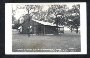 RPPC SIOUX RAPIDS IOWA LITTLE SIOUX GOLF COURSE CLUBHOUSE REAL PHOTO POSTCARD