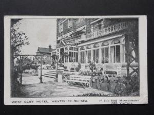 Essex: Westcliff on Sea THE WEST CLIFF HOTEL shows People on the Verander c1926