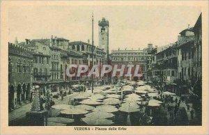 Postcard Old Verona Piazza delle Erbe