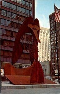 Illinois, Chicago - Civic Center - Picasso Sculpture - [IL-177]