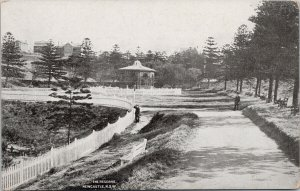 The Reserve Newcastle NSW Australia New South Wales Unused Litho Postcard F92