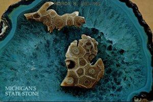 Michigan State Stone Petoskey Stone 1995