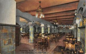 Rochester NY Lonely Gent @ Back Table~Powers Hotel~Rathskellar~Beer Steins c1910