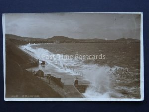 North Wales OLD COLWYN c1920's RP Postcard by Edwards Son Marche