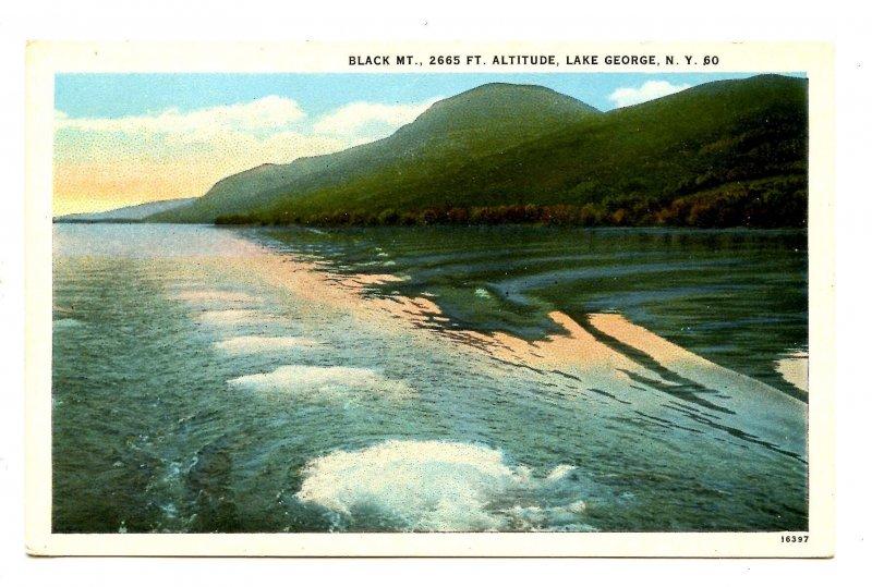 NY - Lake George. Black Mountain
