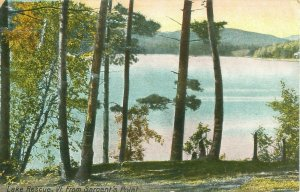Lake Rescue, Vermont From Sargent's Point 1911 Postcard