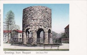 Rhode Island Newport Greetings From Newport Old Stone Mill