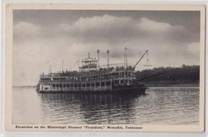 Mississippi Steamer President, Memphis TN