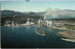 Chrome FACTORY SCENE Powell River - Near Vancouver British Columbia BC AH9091