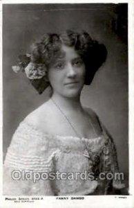 Philco Series 3134A, Fanny Dango Opera 1906 big crease across top edge, posta...