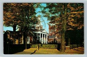 Warren PA- Pennsylvania, Municipal Building, Gateway to Forest, Chrome Postcard