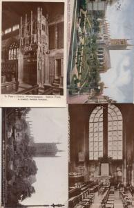 St Peters Church Wolverhampton 4x Vintage RPC Postcard s