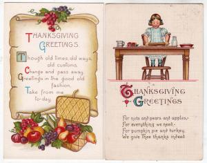 2 - Thanksgiving Cards
