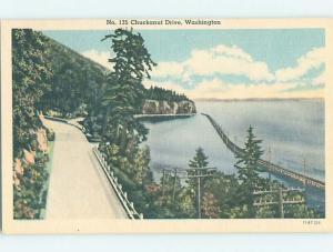Linen CHUCKANUT DRIVE WATER SCENE Edison - Bow - Blanchard Washington WA hk2690