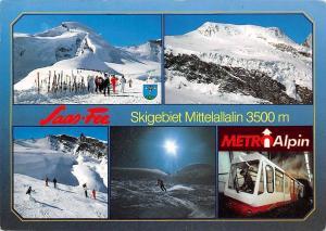 Saas Fee Wallis Skigebiet Felskinn Mittelallalin Metro Alpin Skiers