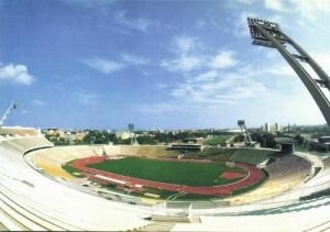 hungary, BUDAPEST, Népstadion, Volksstadion (1988) Stadium Postcard