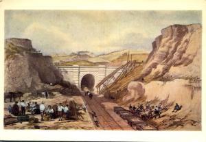 Constructing North Church Railway Tunnel, United Kingdom