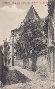 BEANUE, France,1910-1920s, Impasse du Chapitre et Porche Notre-Dame