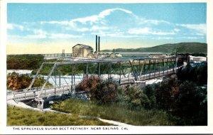 California Salinas The Spreckles Sugar Beet Refinery