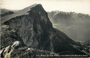 Switzerland Lac Leman Alps Savoye panorama