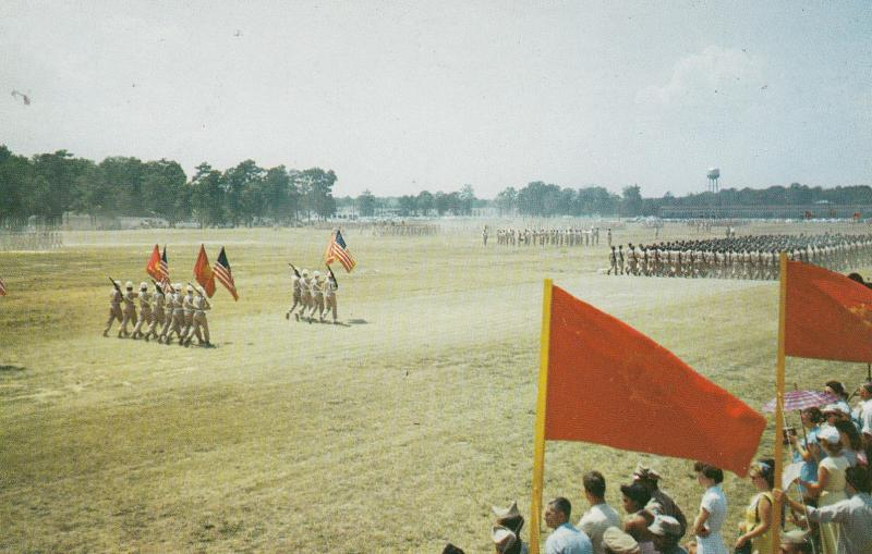 THE COLORS , Fort Eustis , Virginia , 50-60s