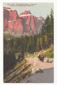 Austria Alps Tirol Canazei Pordoi Pass Dolomitenstrasse