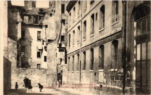 CPA AK PARIS 3e Impasse des Boeufs. Hotel d'Albret (537505)