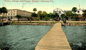 FL - Daytona. Prince George & Austin Hotels  (crease)