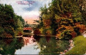 Minnesota Minneapolis Loring Park The Lagoon 1912