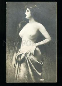 134608 NUDE Lady w/ LONG HAIR by Angelo ASTI vintage PHOTO PC