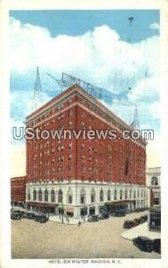Hotel Sir Walter Raleigh NC 1935