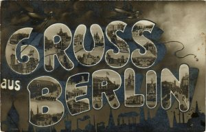 CPA AK Gruss aus Berlin GERMANY (930318)