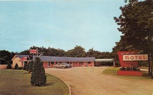 Mackinaw City Michigan~Wawatam Motel~Jamet Street~Electric Heat-Carpet!!~Note BK