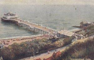 FOLKESTONE , Kent , England, 1906 ; Pier ; TUCK 1471