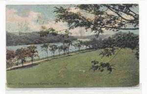 Mount Tom, Oakland's Estate, Gardiner, Maine PU-1911